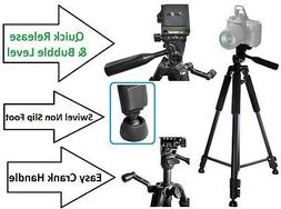 "Super Pro 60"" Tripod With Case For Sony HDR-TD30V NEX-5RL DS"