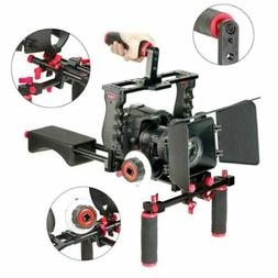 NEW Camera Shoulder Rig Video Cage Film Movie Making Follow