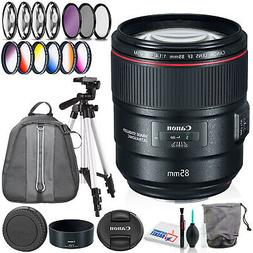 Canon EF 85mm f/1.4L IS USM Lens with Filter Kits, Padded Ba