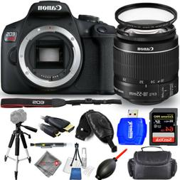Canon EOS Rebel T7 with 18-55mm IS II Lens + 64GB + Tripod K