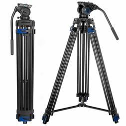Heavy Duty 1.8M Professional Tripod Fehorily FT-818 Video Ca