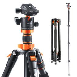 K&F Concept 78 inch Aluminum Camera Tripod with 360 Degree B