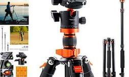 K&F Concept SA254M1 62'' DSLR Camera Tripod Lightweight and
