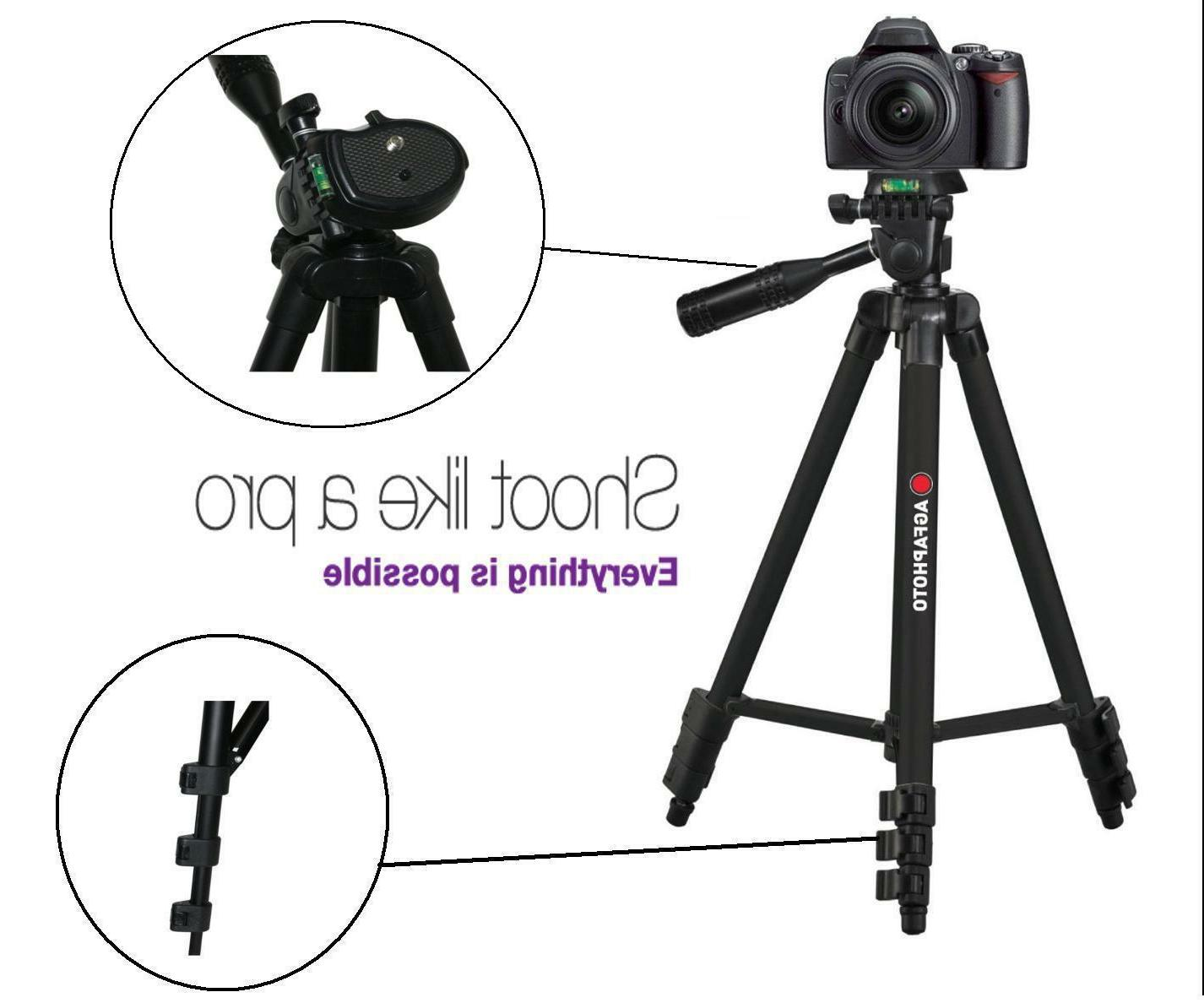 50 pro tripod with case for sony