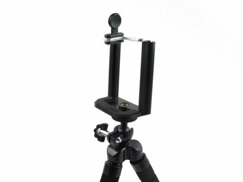 Cell Phone Octopus Stand Clip Holder for Camera DSLR