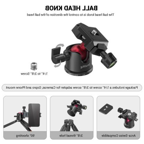 SmallRig Tabletop with Panoramic Ball for DSLR/Action US