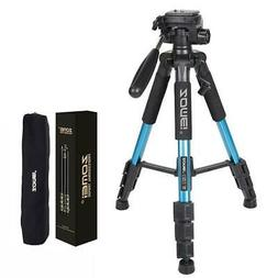 ZOMEI Q111 Al-Alloy Tube & ABS Environmental Plastic Tripod