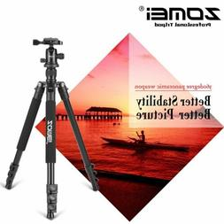 Zomei Q555 Camera Tripod With 360 Degree BallHead For Canon