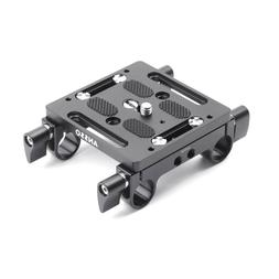 Ansso Quick Release Tripod Mounting Plate with 15mm Rod Clam