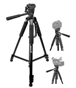 Ultimaxx 60-Inch Professional Camera Tripod for Canon, Nikon