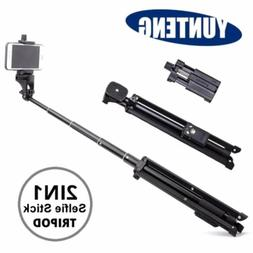 YUNTENG VCT-1688 2 in1 Tripod Monopod Stand + Remote F Smart